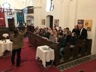 Megénekeltettük a gyülekezetet is
