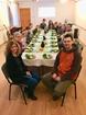 6 A tanítványok immár az asztalnál ülnek