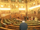 Az alsóházi ülésterem, itt alkotják meg a törvényeket